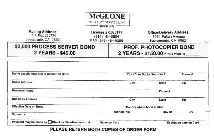 Disclaimer: McGlone Insruance Services